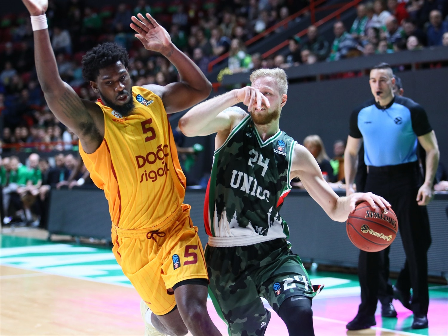Haukur Palsson - UNICS Kazan (photo UNICS) - EC19