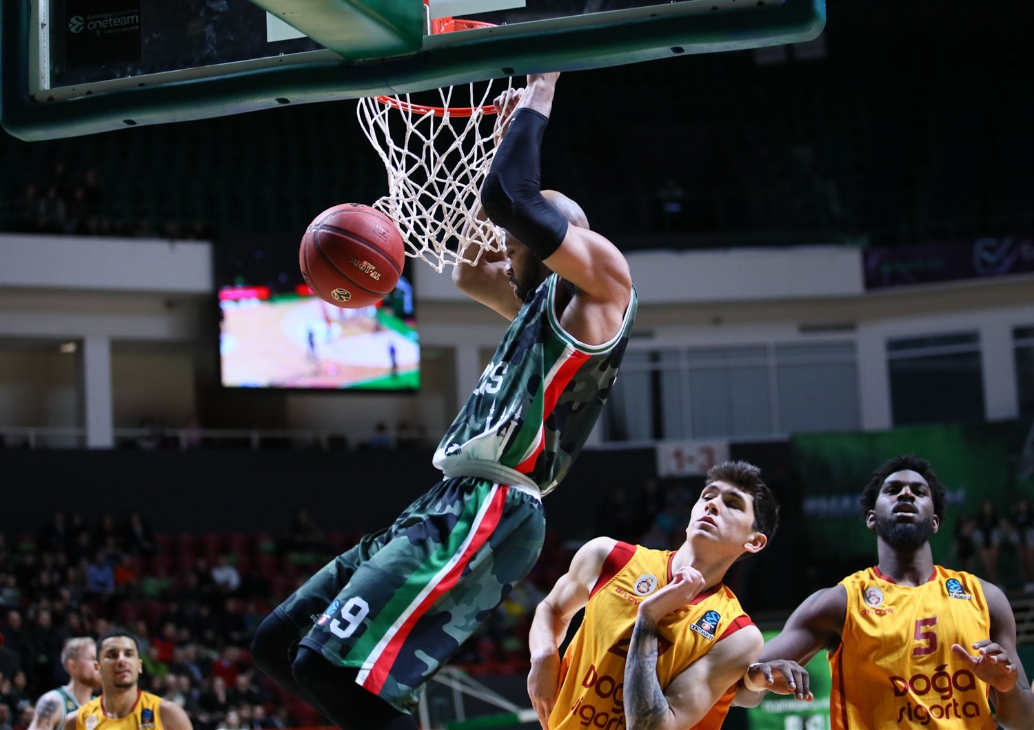 Alex Tyus - UNICS Kazan (photo UNICS) - EC19