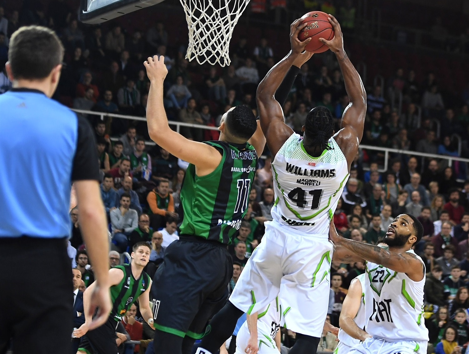 Devin Williams - Tofas Bursa (photo David Grau - Joventut) - EC19
