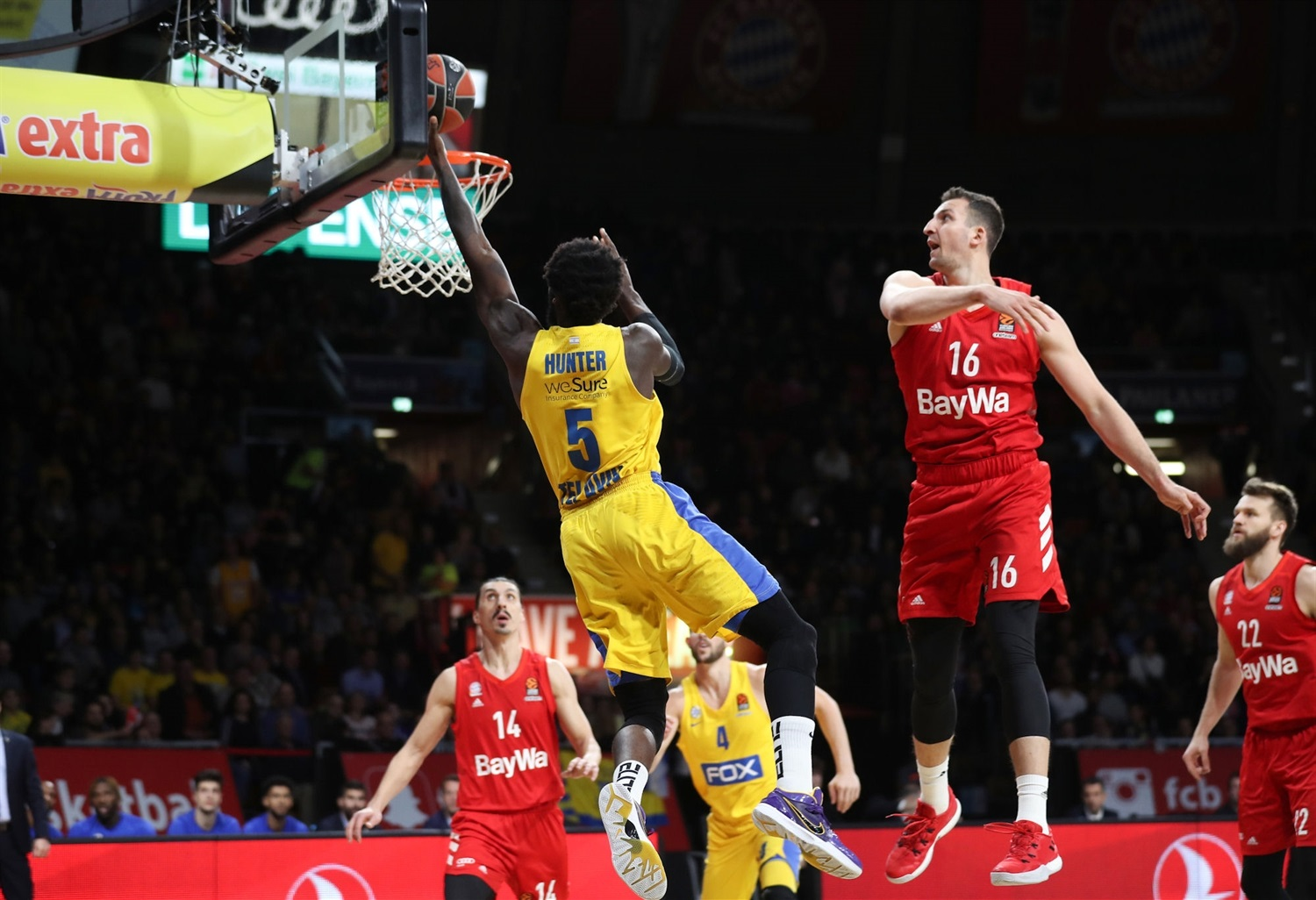 Othello Hunter - Maccabi FOX Tel Aviv - EB19