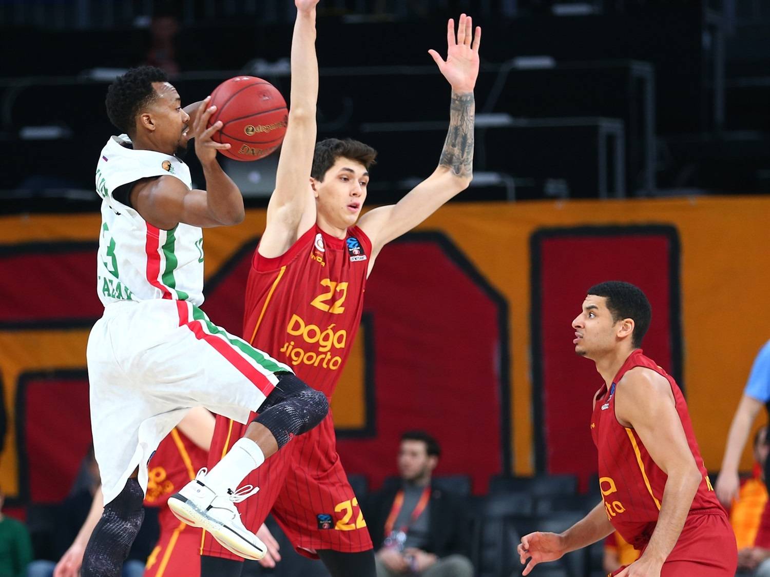 Errick McCollum - UNICS Kazan (photo Galatasaray) - EC19