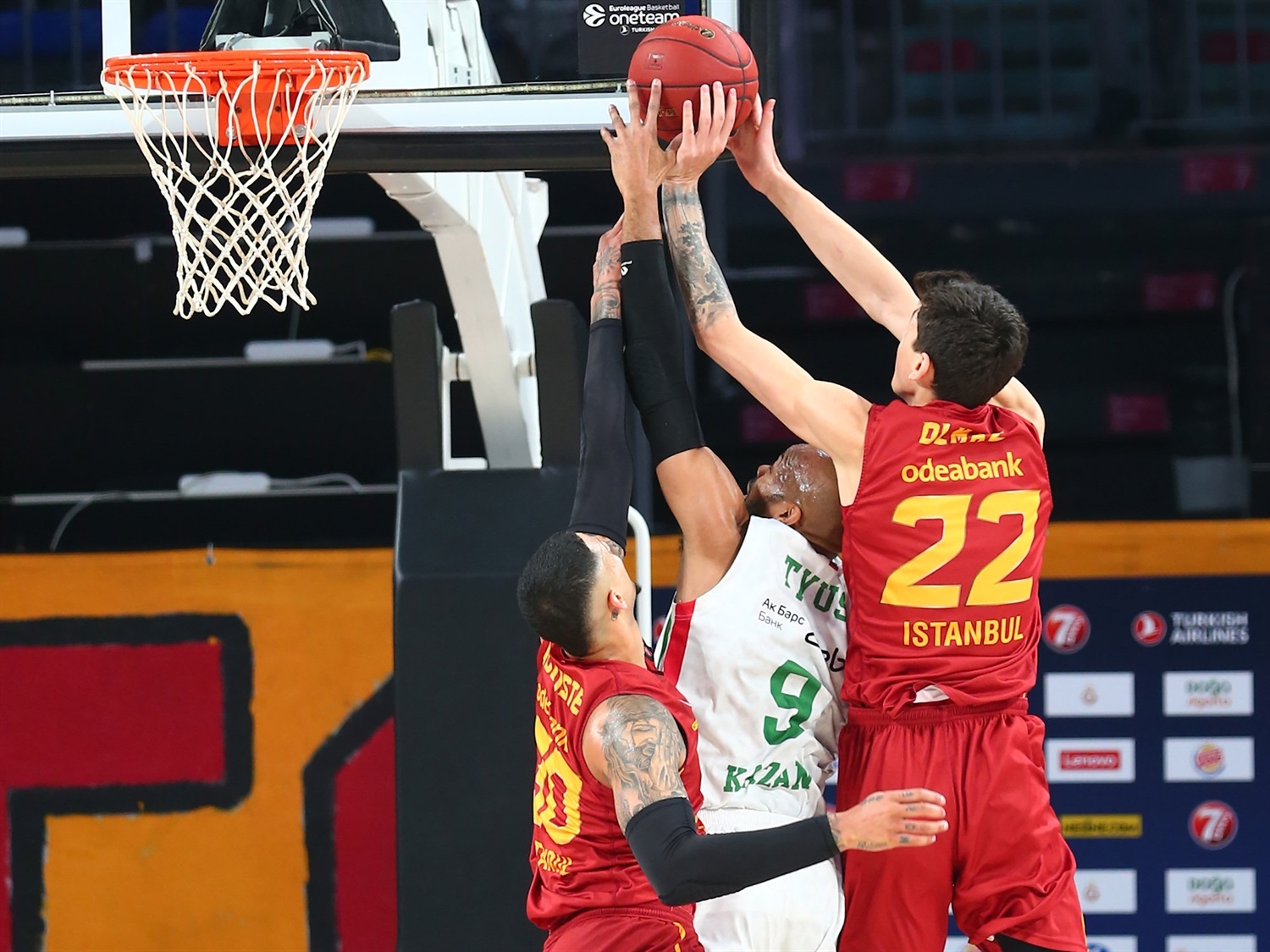 Alex Tyus - UNICS Kazan (photo Galatasaray) - EC19