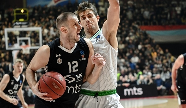 T16 Round 4 Report: Defense lifts Partizan to another home win