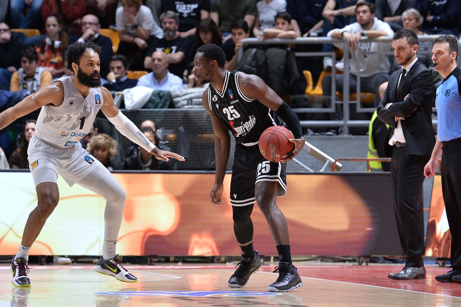 David Cournooh - Segafredo Virtus Bologna (photo Virtus) - EC19