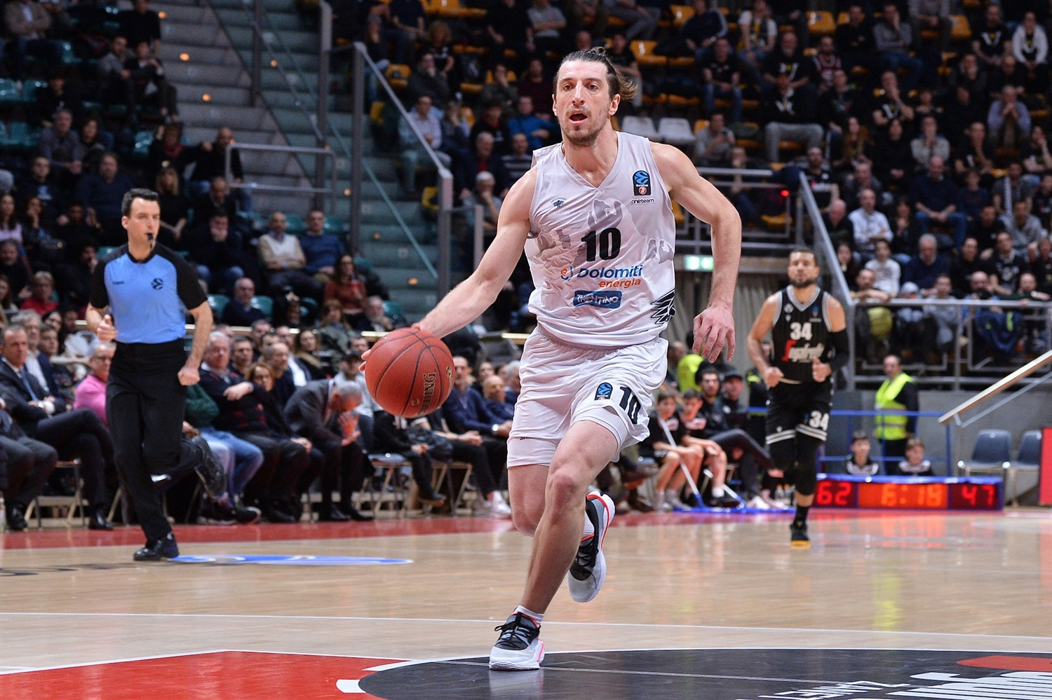 Toto Forray - Dolomiti Energia Trento (photo Virtus) - EC19