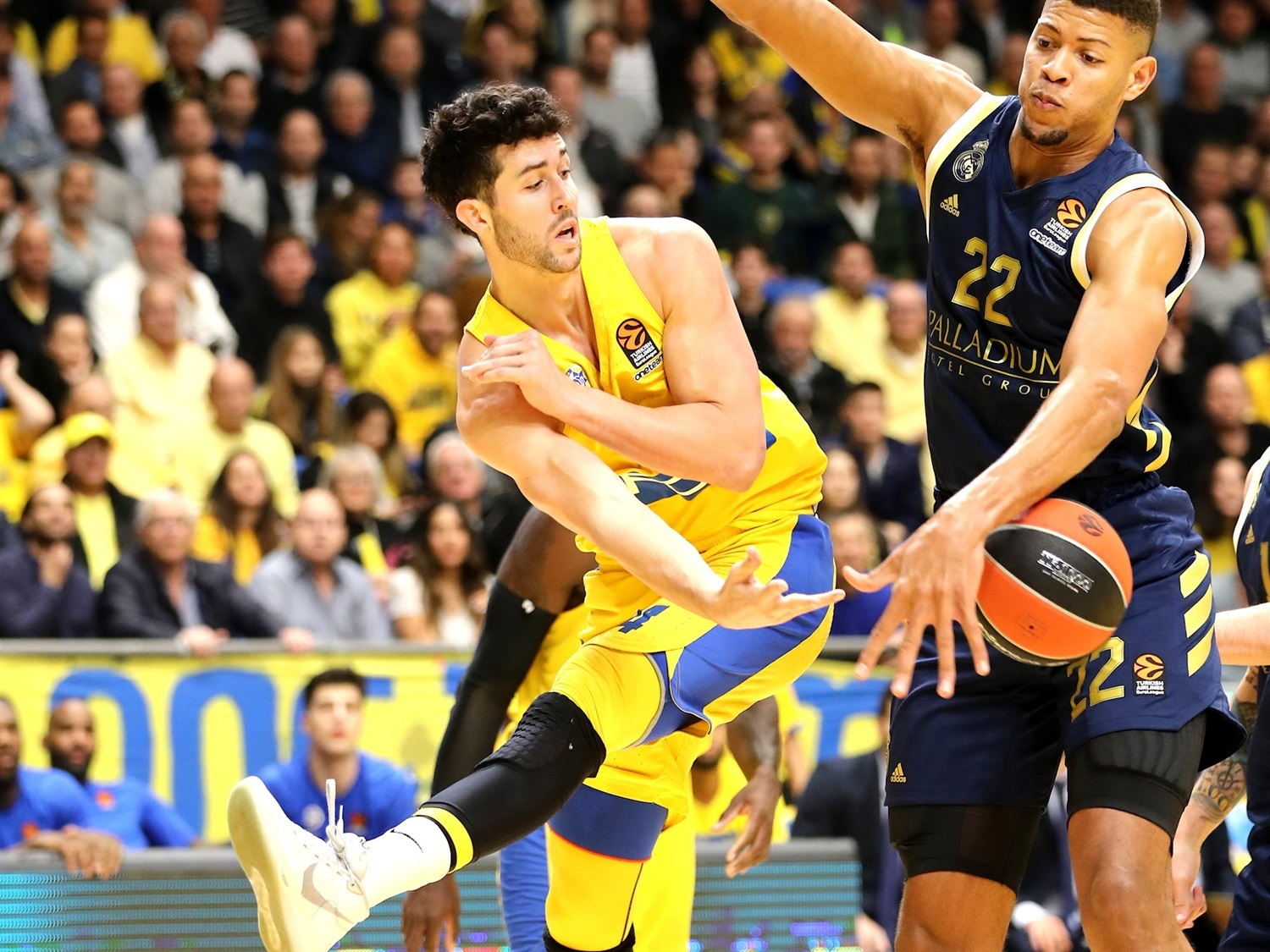 Maccabi FOX Tel Aviv vs. Real Madrid - Game