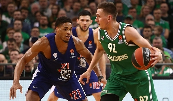 Zalgiris minimized mistakes to win big