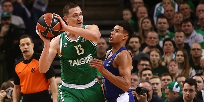 Zalgiris's Jankunas breaks EuroLeague games-played record!