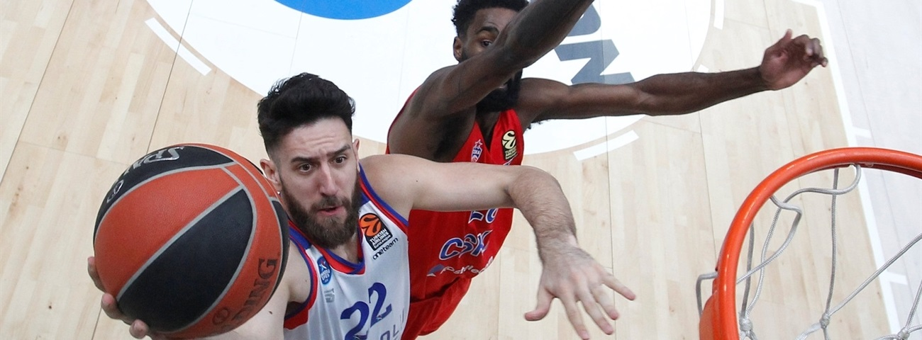 Larkin, Micic were young kids when Efes last won at CSKA
