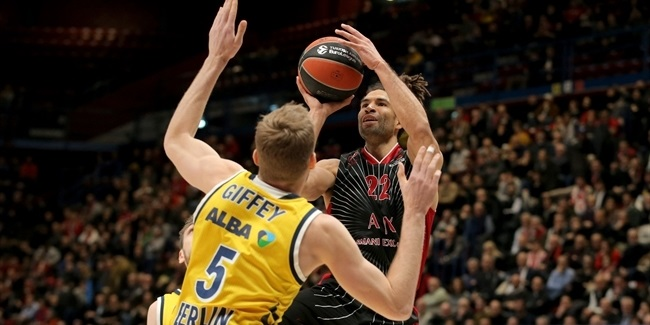 RS Round 23: AX Armani Exchange Milan vs. ALBA Berlin
