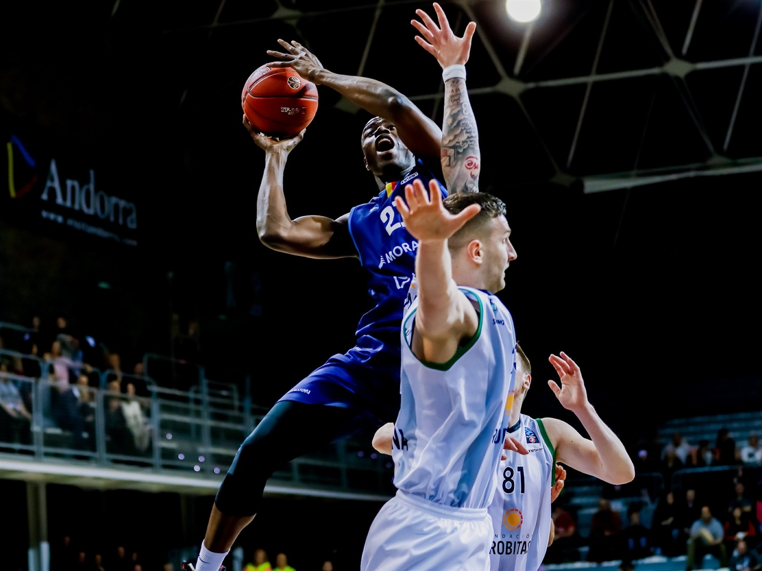 Moussa Diagne - MoraBanc Andorra  (Photo Martin Imatge) - EC19