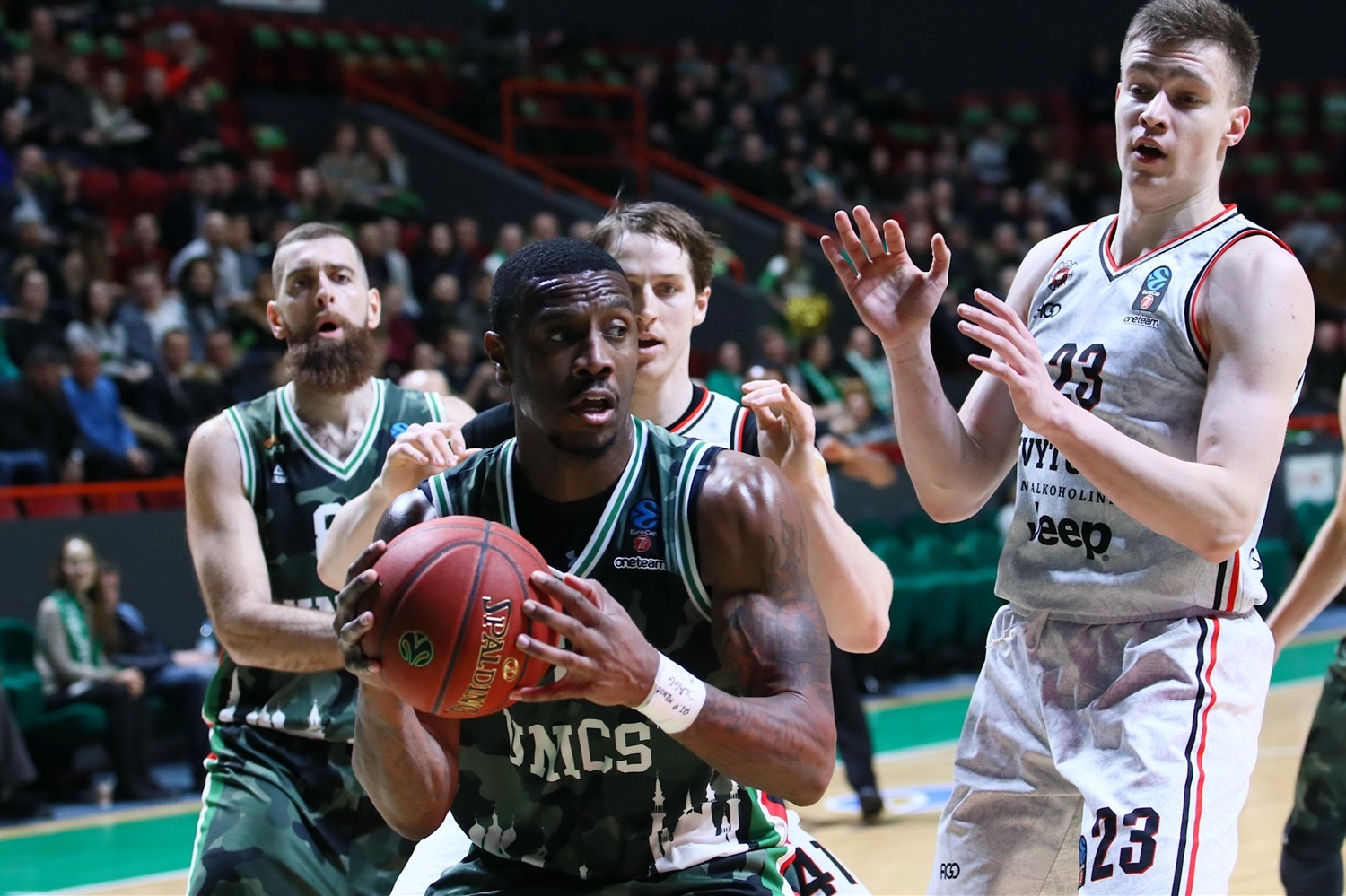Raymar Morgan - UNICS Kazan ( photo Kseniya Bogdanova - UNICS) - EC19