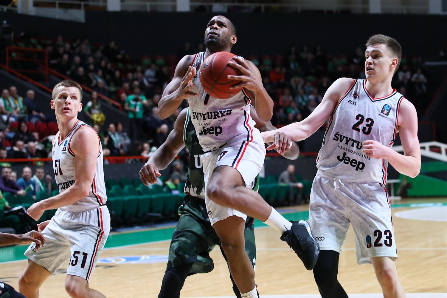 Terrell Holloway - Rytas Vilnius ( photo Kseniya Bogdanova - UNICS) - EC19