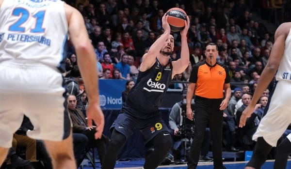 RS23 Report: Fenerbahce turns back host Zenit, 68-73