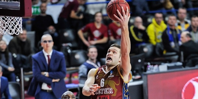 7DAYS EuroCup, Top 16 Round 5: Umana Reyer Venice vs. EWE Baskets Oldenburg