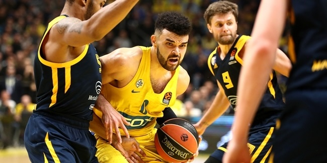 Bryant led Maccabi when needed most