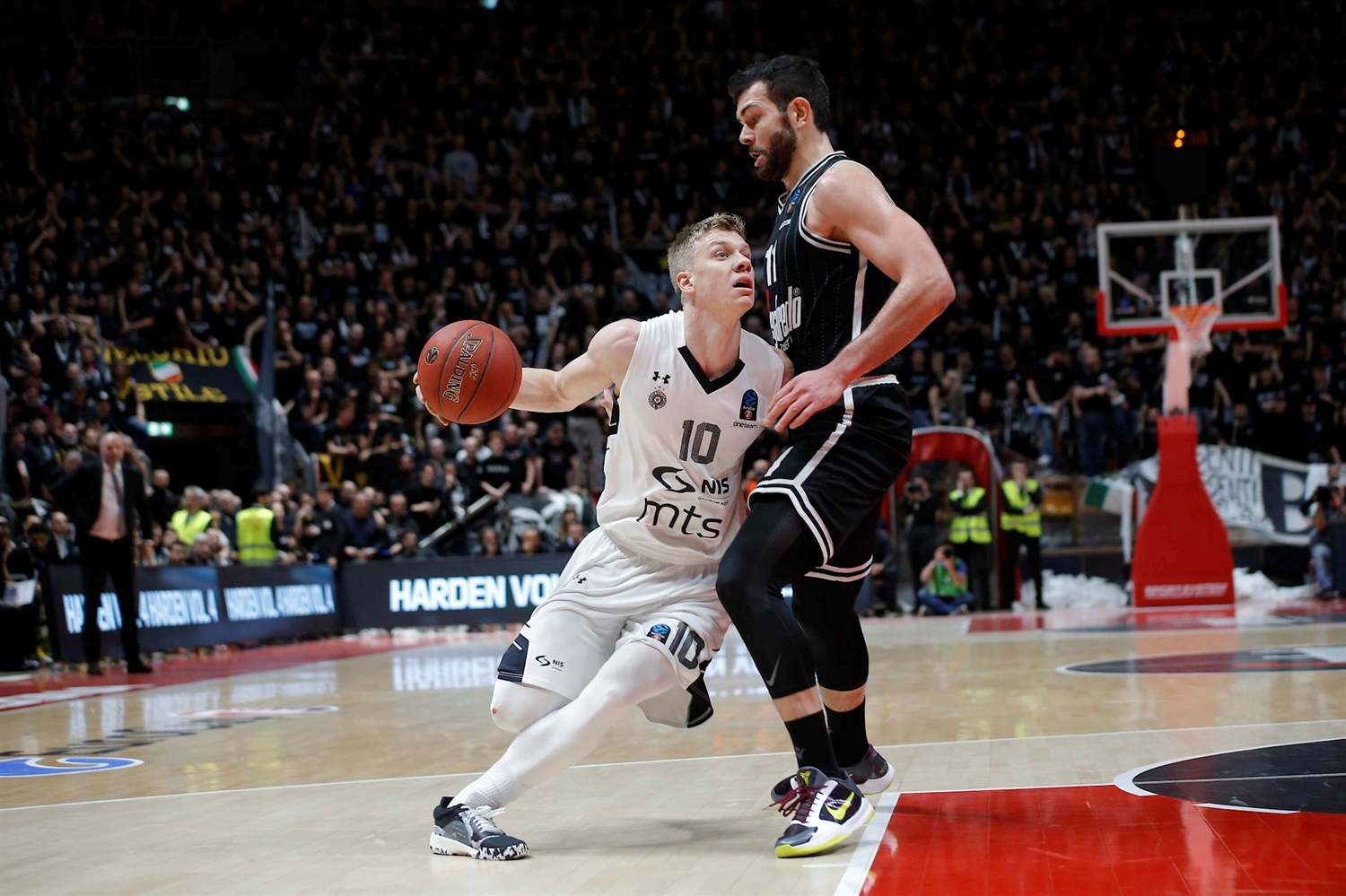 Ognjen Jaramaz - Partizan NIS Belgrade (photo Massimo Ceretti - Virtus) - EC19