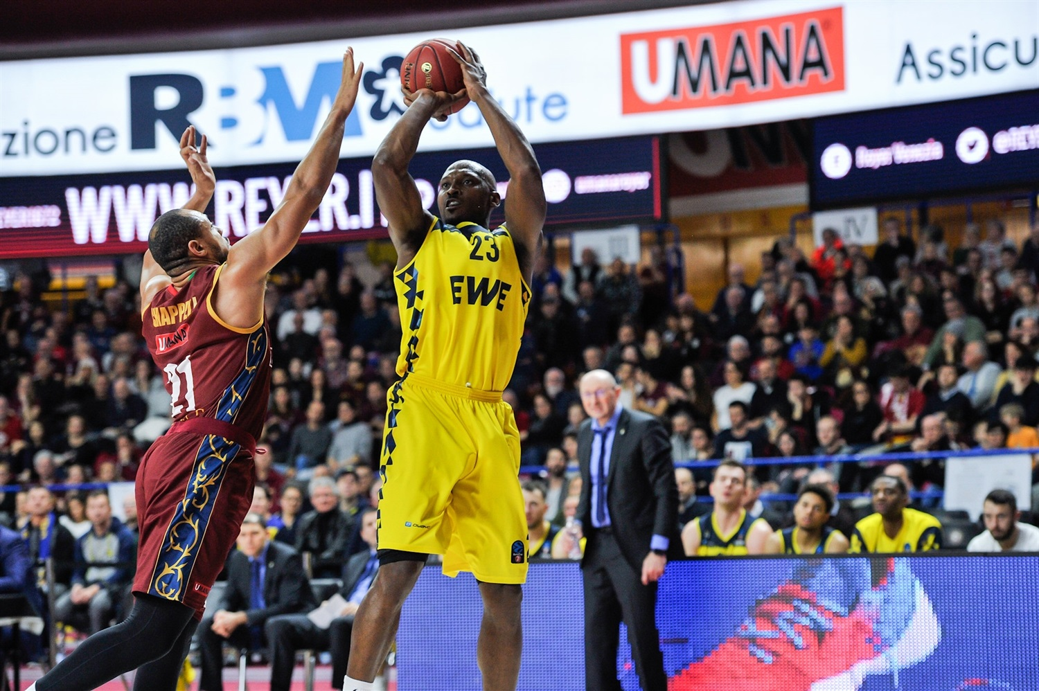 Rickey Paulding - EWE Baskets Oldenburg (photo Alessandro Scarpa - Reyer) - EC19