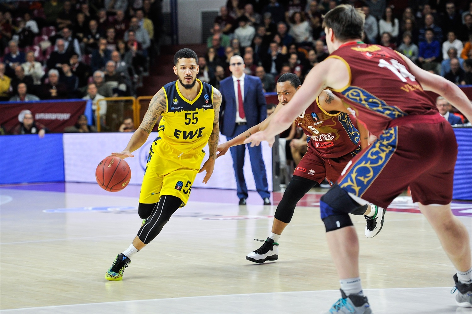 Tyler Larson - EWE Baskets Oldenburg (photo Alessandro Scarpa - Reyer) - EC19