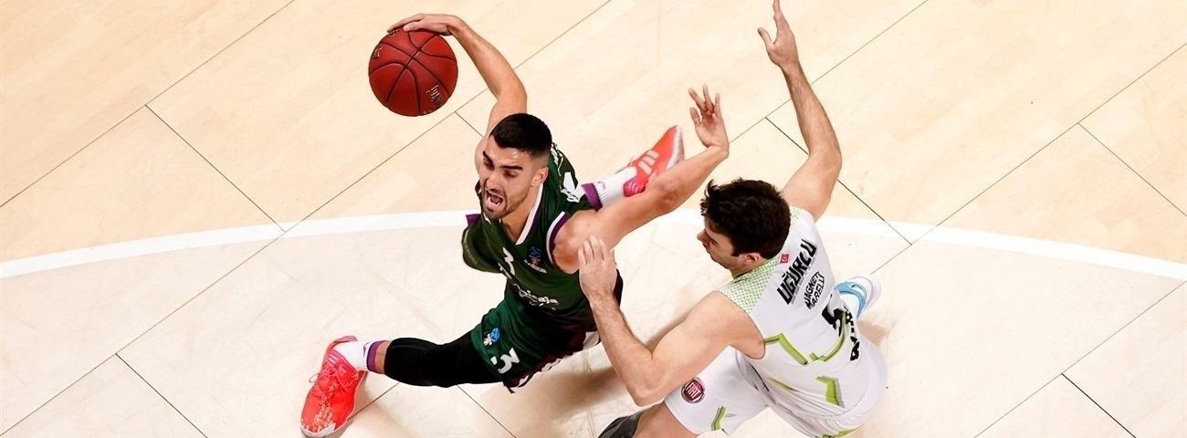Unicaja excelled on defense, shared on offense