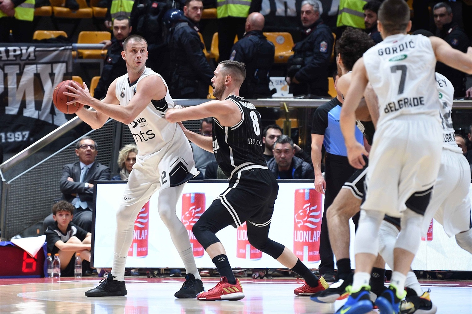Novica Velickovic - Partizan NIS Belgrade (photo Massimo Ceretti - Virtus) - EC19