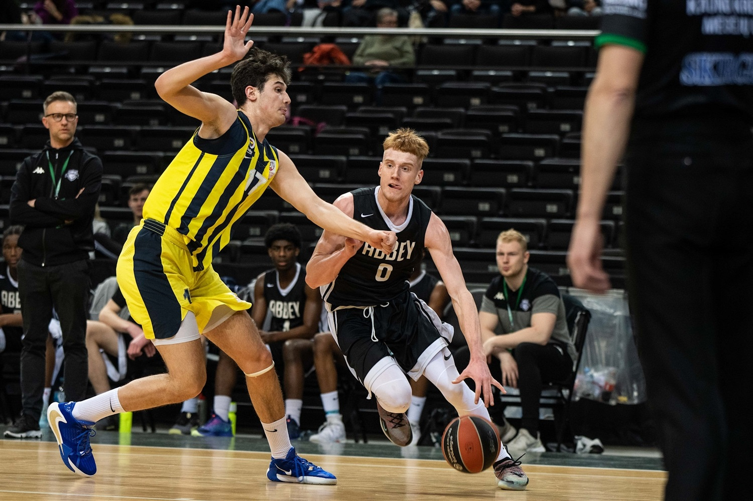 Cameron Hildreth - U18 Barking Abbey London (photo  Justinas Gedvilas -  Zalgiris) - ANGT Kaunas 2020 - JT19