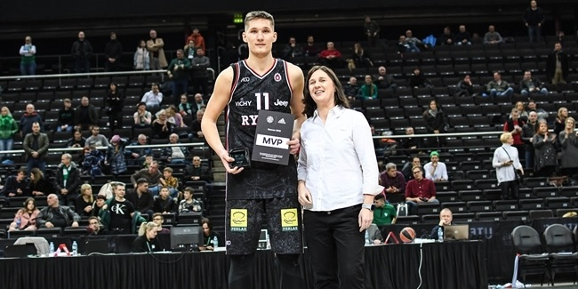 Tubelis takes home MVP as Rytas takes first place