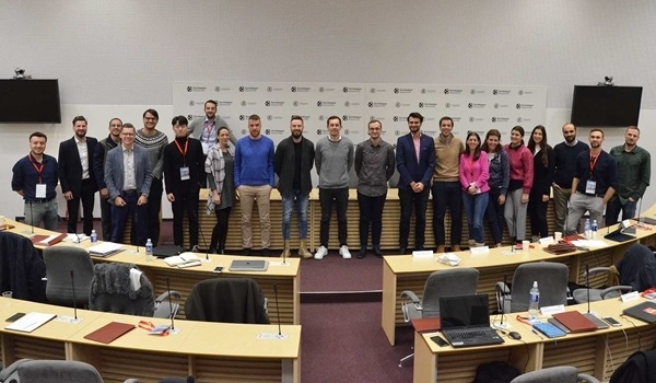 Sports Business MBA classes meet in Kaunas for in-person sessions