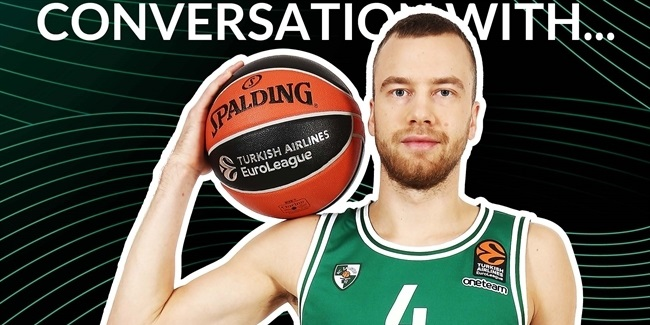Lukas Lekavicius: 'I missed playing for Saras'