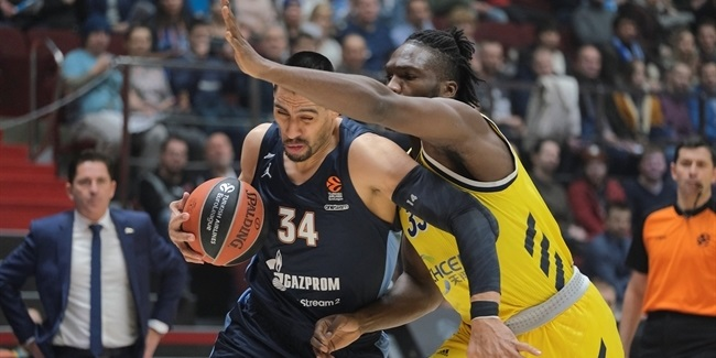 RS Round 25: Zenit St Petersburg vs. ALBA Berlin