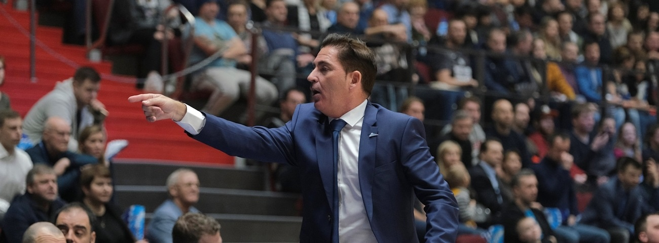 Zenit starts first pre-season under Coach Pascual