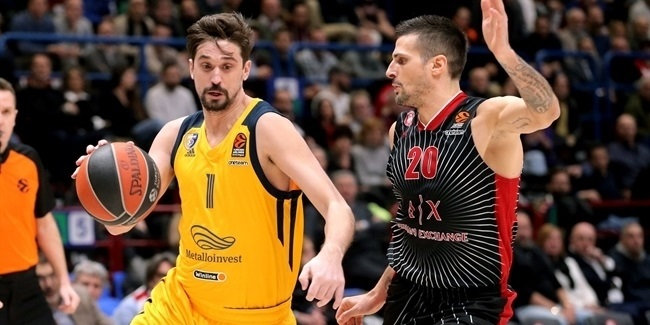RS Round 25: AX Armani Exchange Milan vs. Khimki Moscow Region