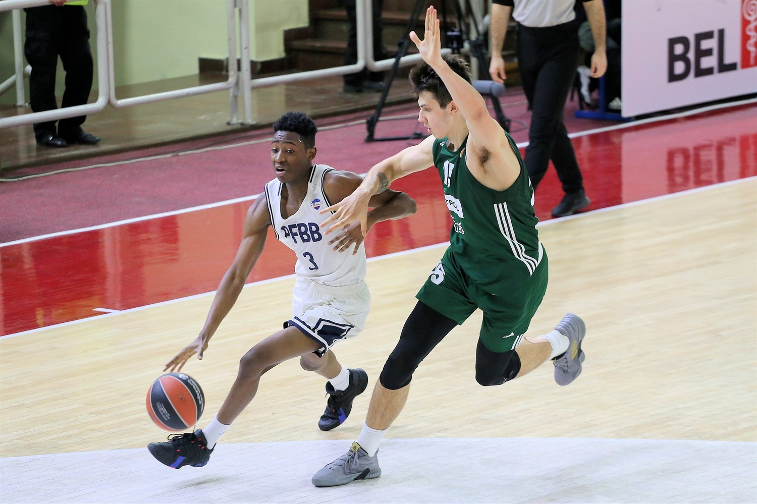 Rudy Demahis - U18 CFBB Paris (photo Djordje Kostic - Zvezda) - JT19