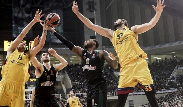 Barcelona rallied behind rebounds