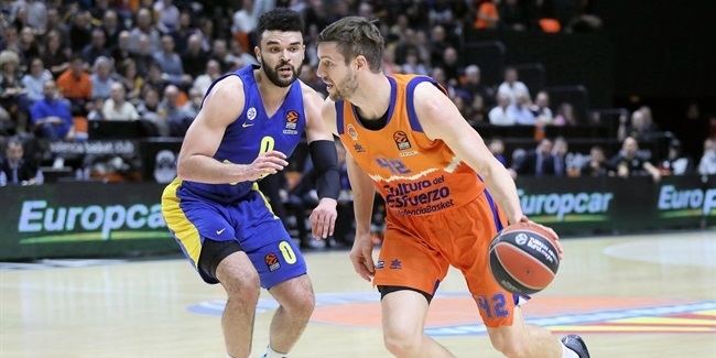 RS Round 25: Valencia Basket vs. Maccabi FOX Tel Aviv