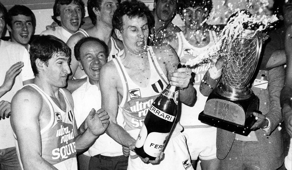 The first time Cologne crowned the EuroLeague champion: Cantu 1982