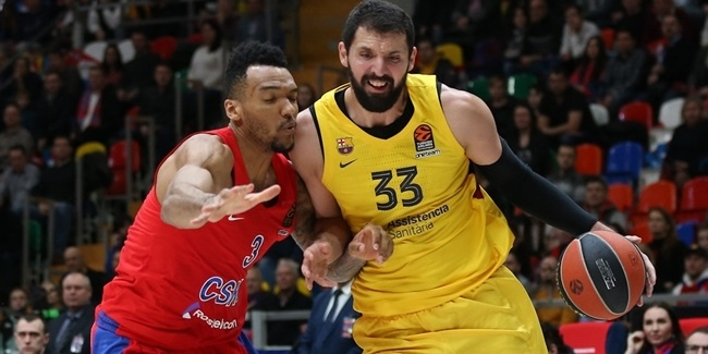 MVP for February: Nikola Mirotic, FC Barcelona