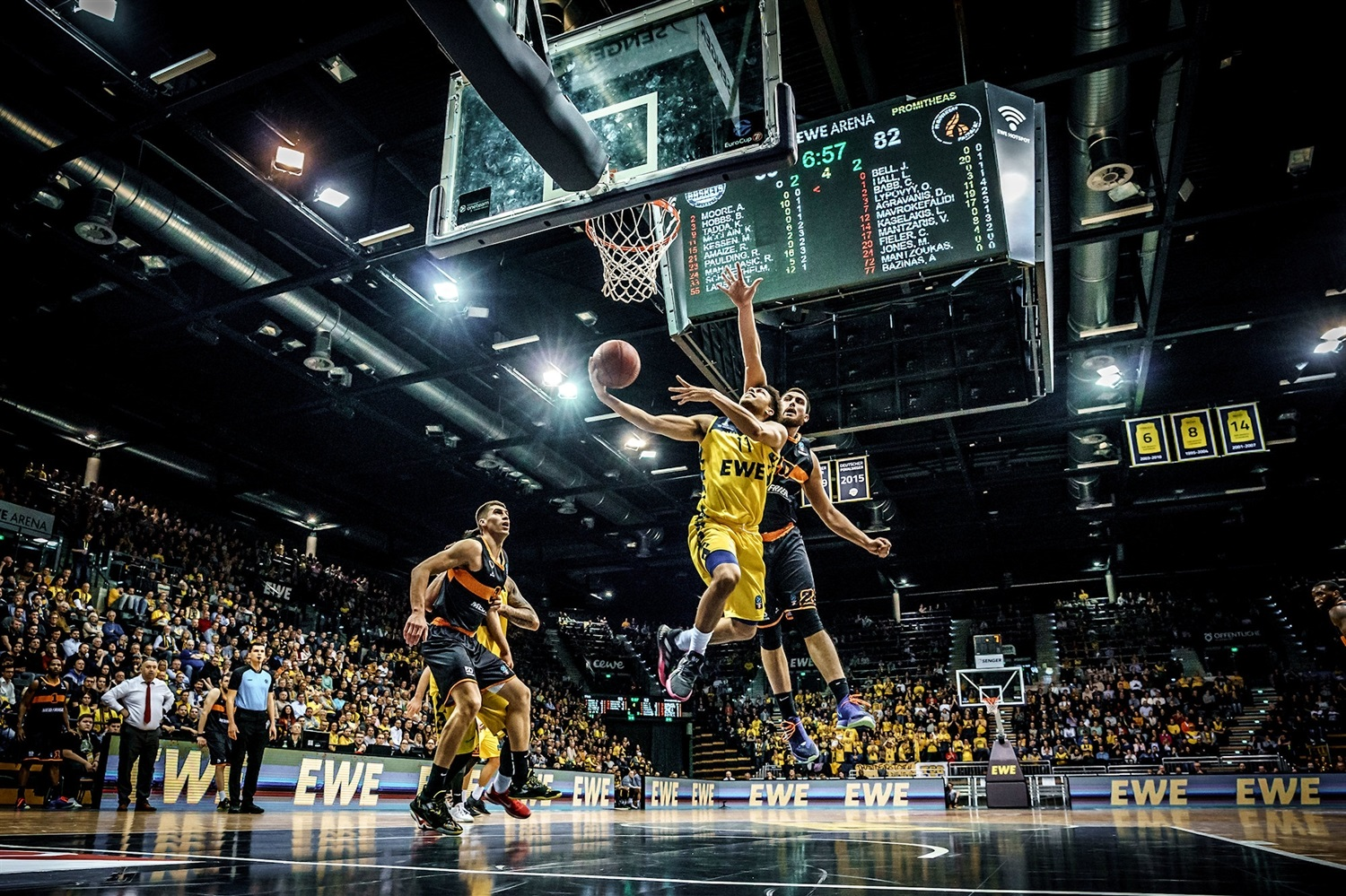 Kevin McClain - EWE Baskets Oldenburg (photo Ulf Duda - fotoduda.de) - EC19