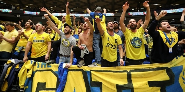 Ensemble effort brought Maccabi back to playoffs