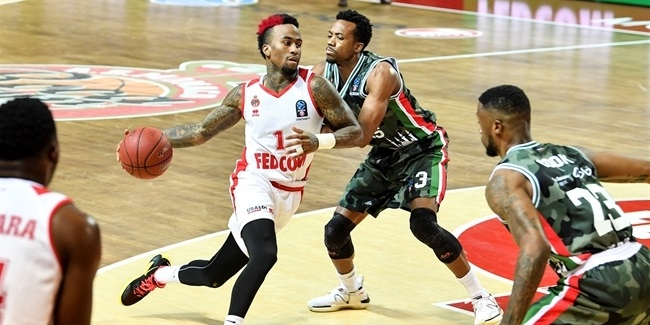7DAYS EuroCup, Top 16 Round 6: AS Monaco vs. UNICS Kazan