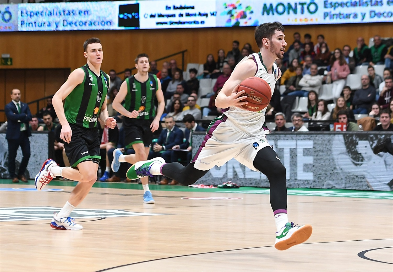 Dario Brizuela - Unicaja Malaga (photo David Grau - Joventut) - EC19