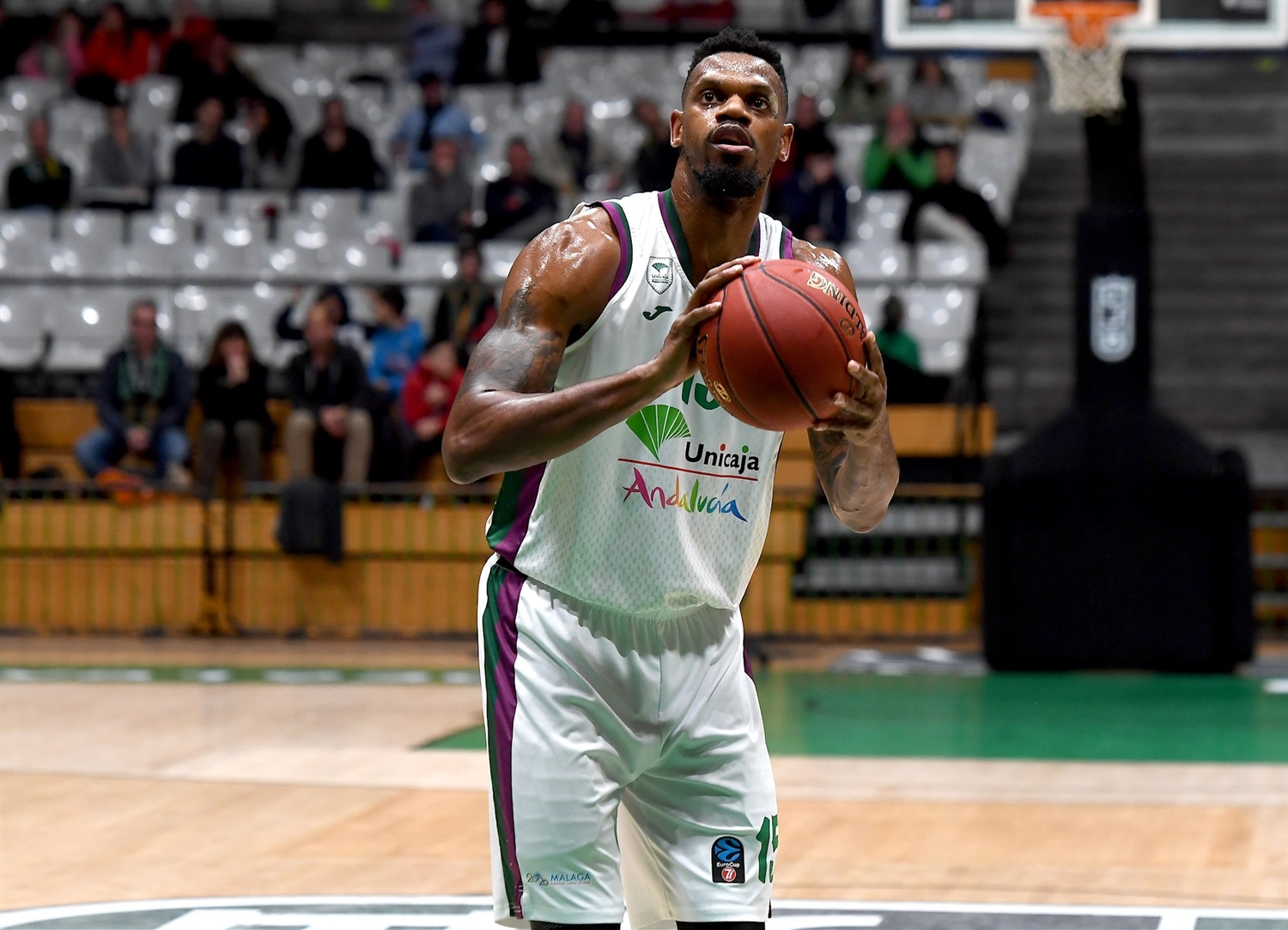 Frank Elegar - Unicaja Malaga (photo David Grau - Joventut) - EC19