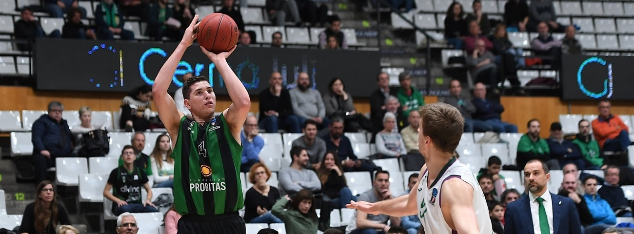 Big men keyed Joventut's long-awaited road win