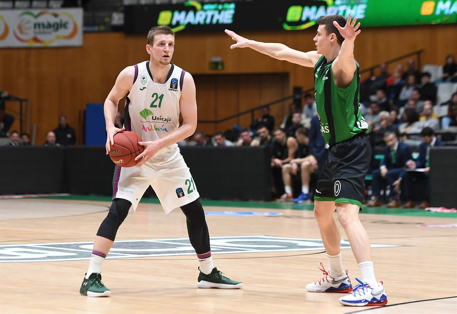 Adam Waczynski - Unicaja Malaga (photo David Grau - Joventut) - EC19