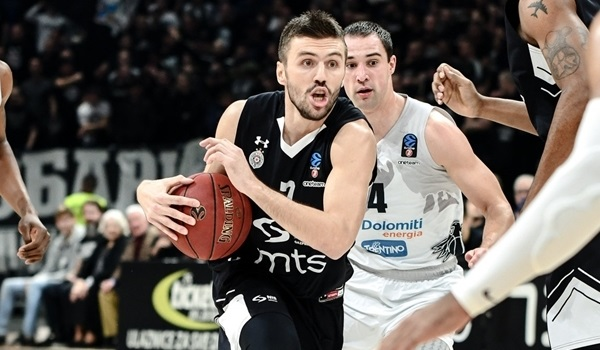 Nemanja Gordic extends contract with Partizan