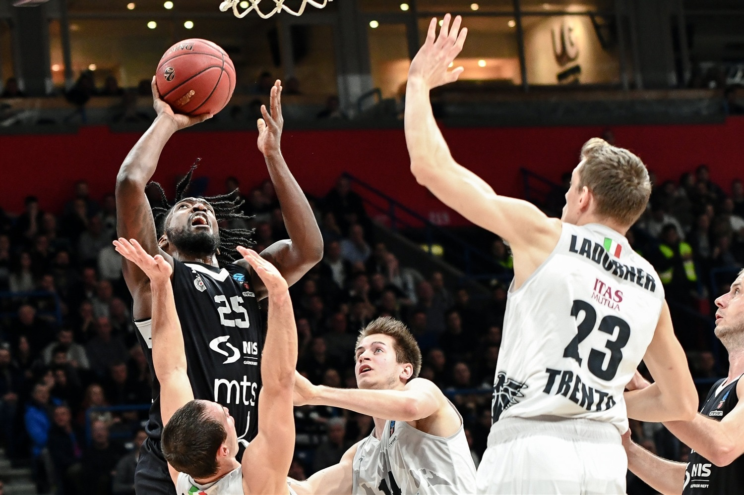 Rashawn Thomas - Partizan NIS Belgrade (photo Dragana Stjepanovic) - EC19