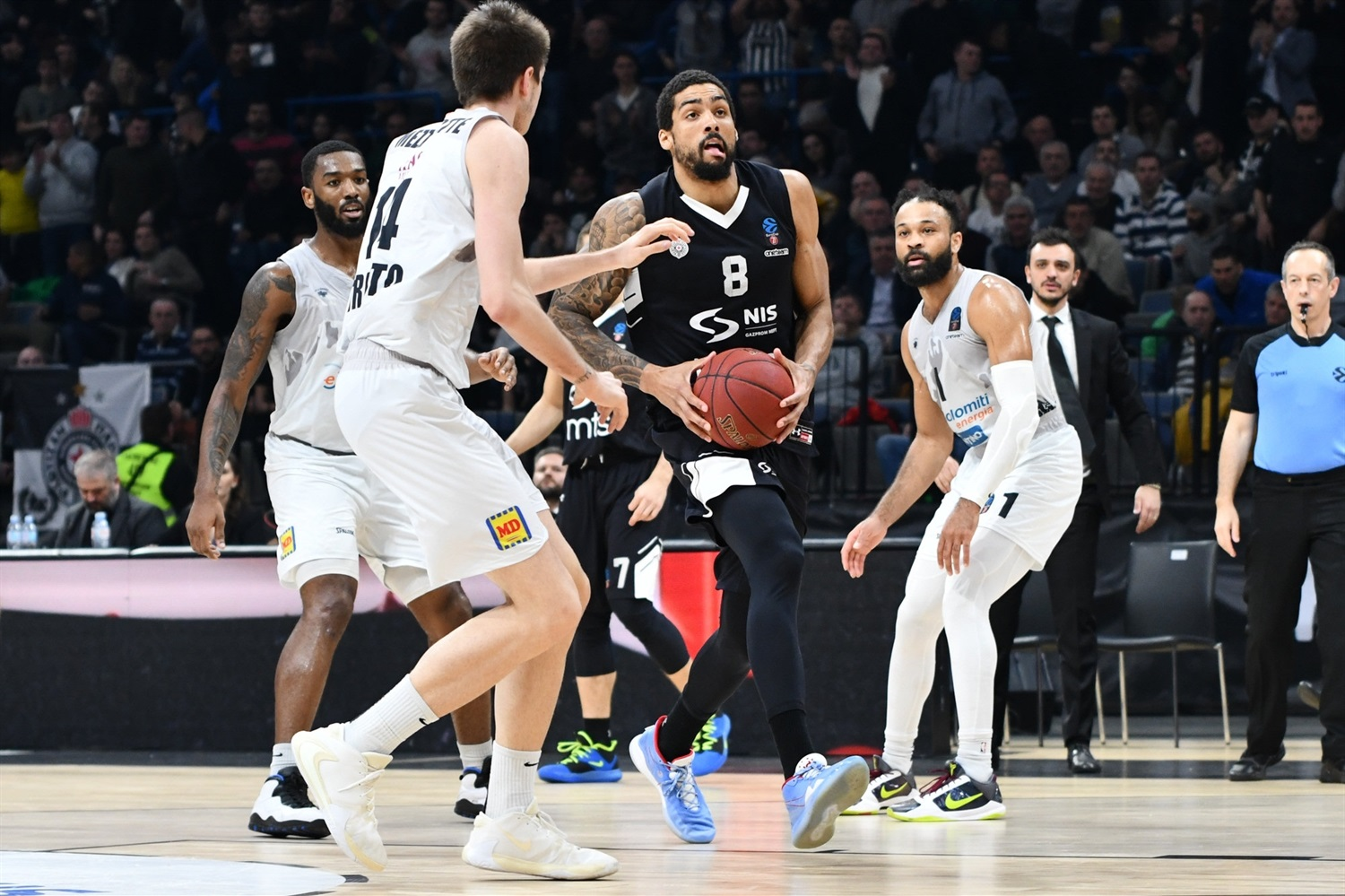 James McAdoo - Partizan NIS Belgrade (photo Dragana Stjepanovic) - EC19