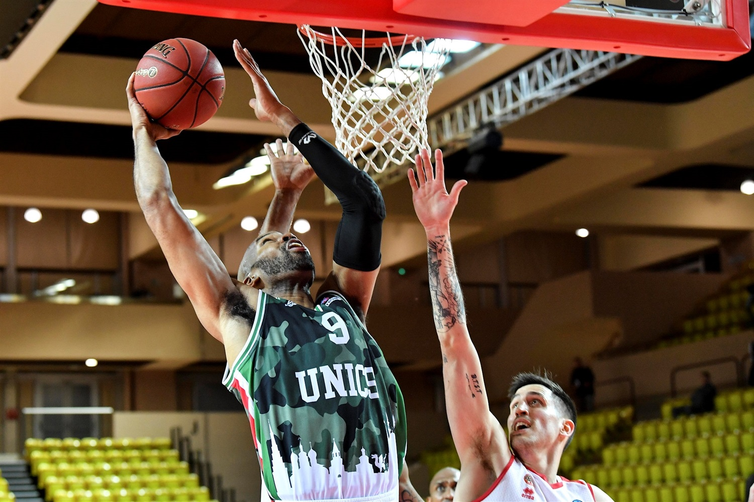 Alex Tyus - UNICS Kazan (photo Dircom - Monaco) - EC19