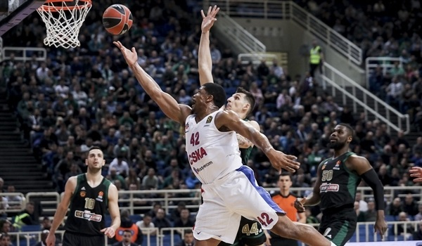 RS28 Report: CSKA secures playoff spot by crushing Panathinaikos