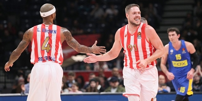 Zvezda shot its way back into playoffs hunt